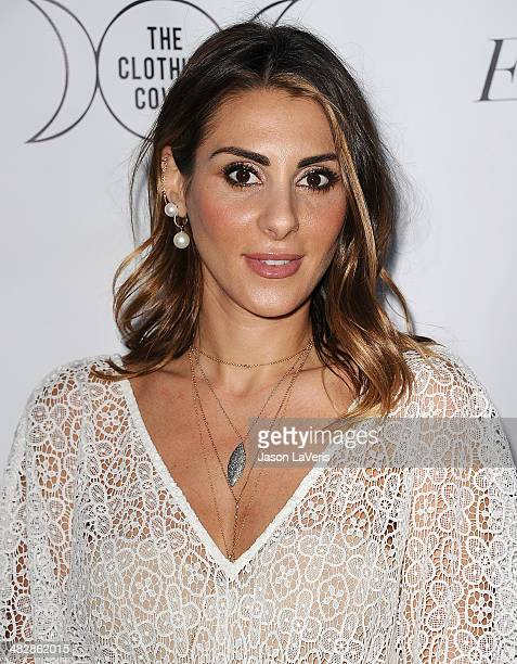 Jewelry designer Elodie Khayat attends the launch of 'The Clothing Coven' at Elodie K on April 4 2014 in West Hollywood California