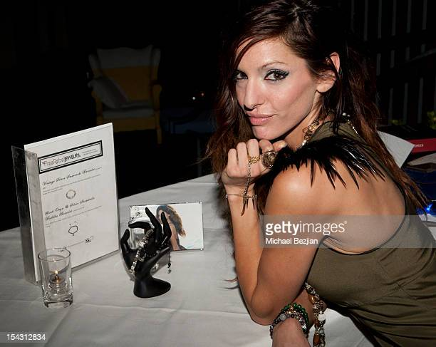 Jewelry designer Heather Koplan attends Exceptional Children's Foundation Fundraising Gala at SkyBar at the Mondrian Los Angeles on October 17, 2012...