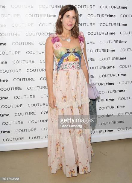 Jewelry designer Irene Neuwirth attends the Couture Las Vegas jewelry show at Wynn Las Vegas on June 2 2017 in Las Vegas Nevada