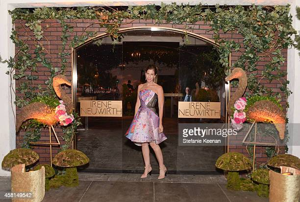 Jewelry designer Irene Neuwirth attends the Irene Neuwirth Flagship Grand Opening on October 30 2014 in West Hollywood California