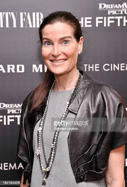 Jewelry designer Jennifer Creel attends The Cinema Society with Vanity Fair Richard Mille screening of DreamWorks Pictures' The Fifth Estate at the...