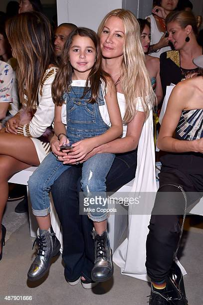 Jewelry designer Jennifer Fisher and daughter Drew Fisher attend Mara Hoffman Spring 2016 during New York Fashion Week The Shows at The Gallery...