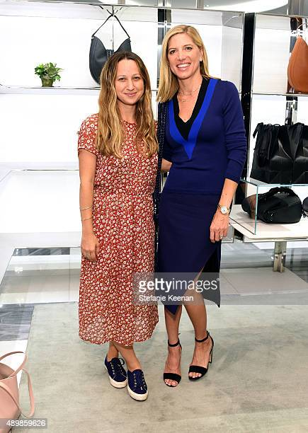 Jewelry designer Jennifer Meyer and stylist Petra Flannery attend the Exclusive Launch of Altuzarra Handbags with Joseph Altuzarra at Barneys New...
