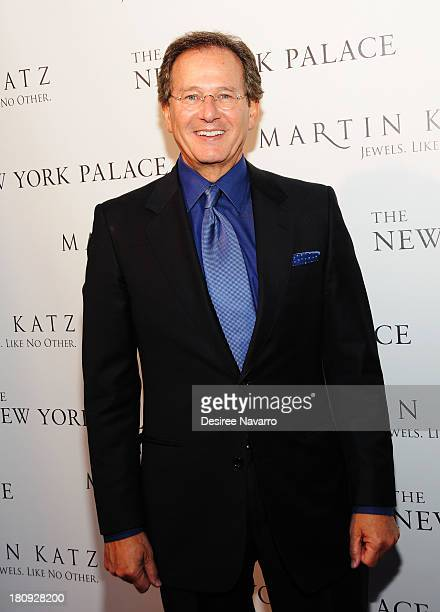 Jewelry designer Martin Katz attends The New York Palace's unveiling celebration at The New York Palace Hotel on September 17 2013 in New York City