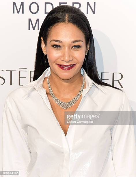 Jewelry Designer Monique Pean attends the Estee Lauder Modern Muse Fragrance Launch at Guggenheim Museum on September 12 2013 in New York City