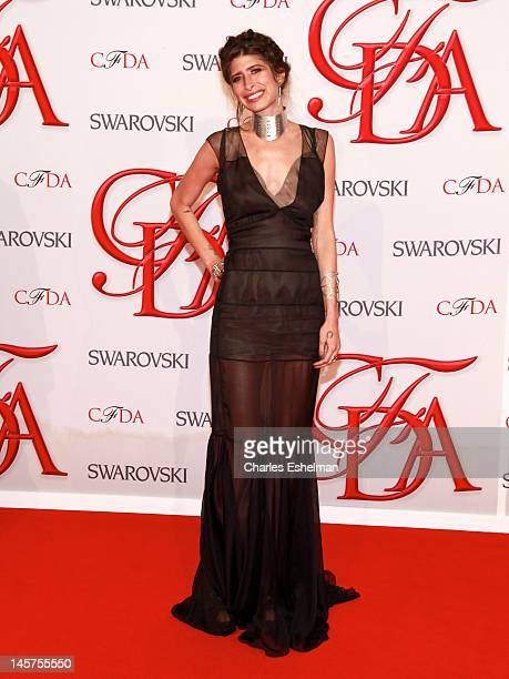 Jewelry designer Pamela Love attends 2012 CFDA Fashion Awards at Alice Tully Hall on June 4 2012 in New York City