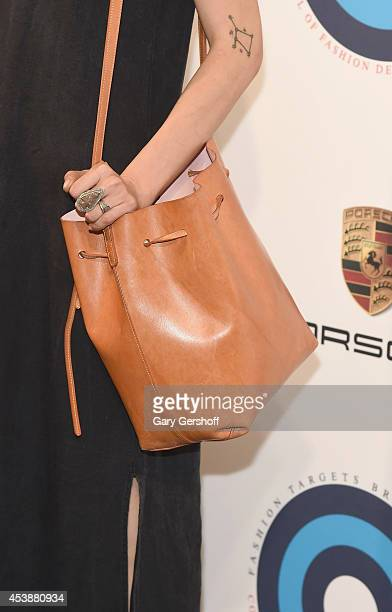 Jewelry designer Pamela Love attends Fashion Targets Breast Cancer at The New Museum on August 20 2014 in New York City