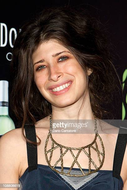 Jewelry Designer Pamela Love attends the Ecco Doman Fashion Foundation Decade of Style celebration at The Bowery Hotel on February 3 2011 in New York...