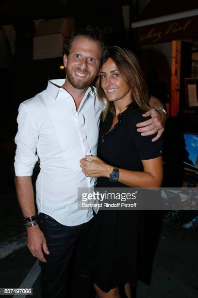 Jewelry Designer Valerie Messika and her companion JeanBaptiste Sassine attend the 10th Angouleme FrenchSpeaking Film Festival Dinner after the...