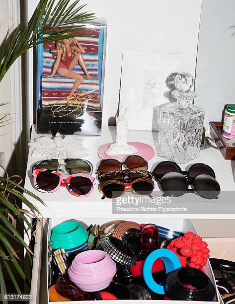 Jewelry designer Yaz Bukey's accessory collection is photographed for Madame Figaro on July 5 2016 in Paris France PUBLISHED IMAGE CREDIT MUST READ...