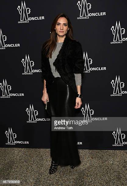 Jewelry Designer Zani Gugelmann attends the Moncler Grenoble Fall 2014 Presentation at the Hammerstein Ballroom on February 8 2014 in New York City