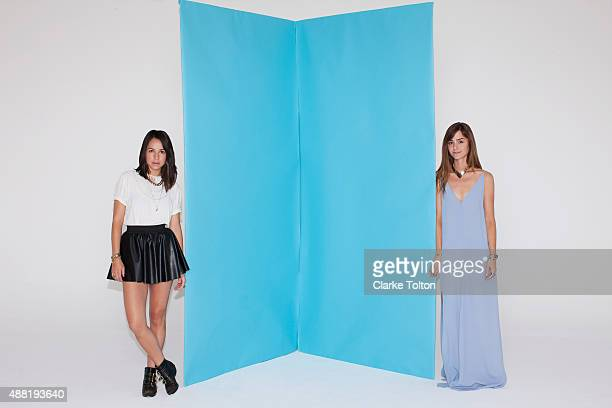 Jewelry designers Nat Mauro and Cole Morrall are photographed for Refinery29 on March 13, 2013 in Los Angeles, California. PUBLISHED IMAGE.