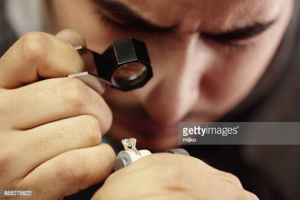 jewelry manufacture - diamond gemstone stock pictures, royalty-free photos & images
