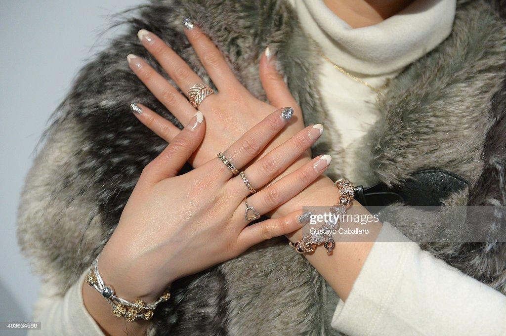 PANDORA Jewelry Sponsors Mercedes-Benz Fashion Week in New York City : News Photo