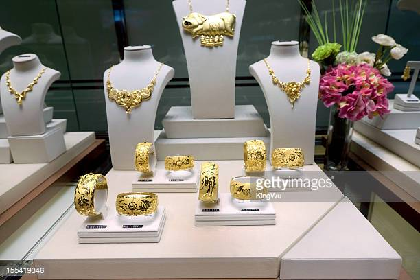 jewelry store display - jewelry store stock pictures, royalty-free photos & images