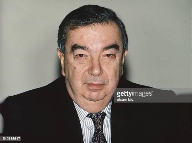 Jewgeni M. Primakow, Außenminister von Russland. .