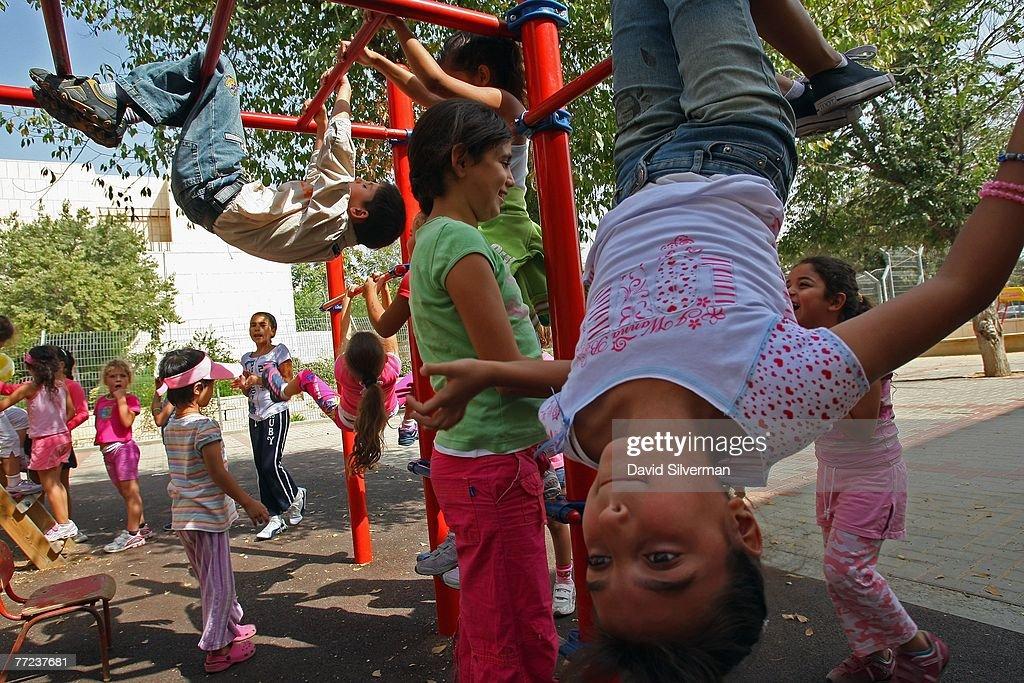 Pioneering School Bridges Israeli Palestinian Divide : News Photo