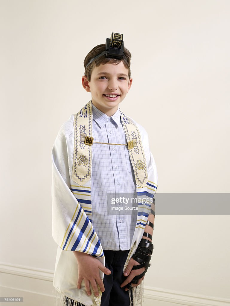 Jewish boy : Stock Photo