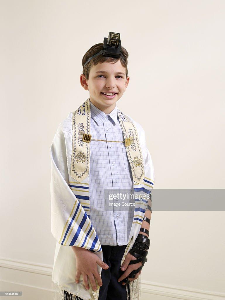 Jewish boy : Stock Photo