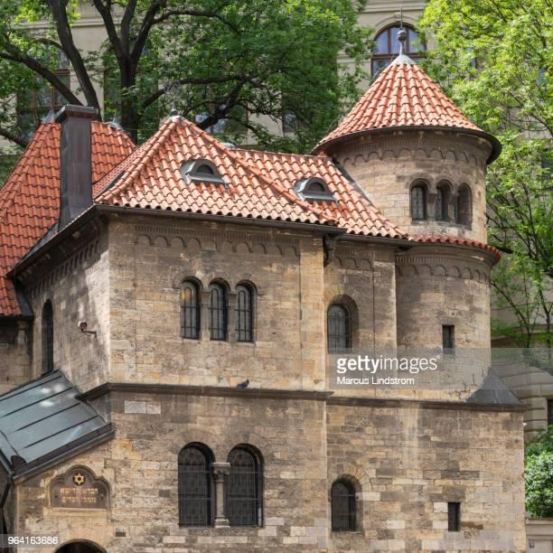 judiska ceremoniella hall, prag - judiskt museum bildbanksfoton och bilder