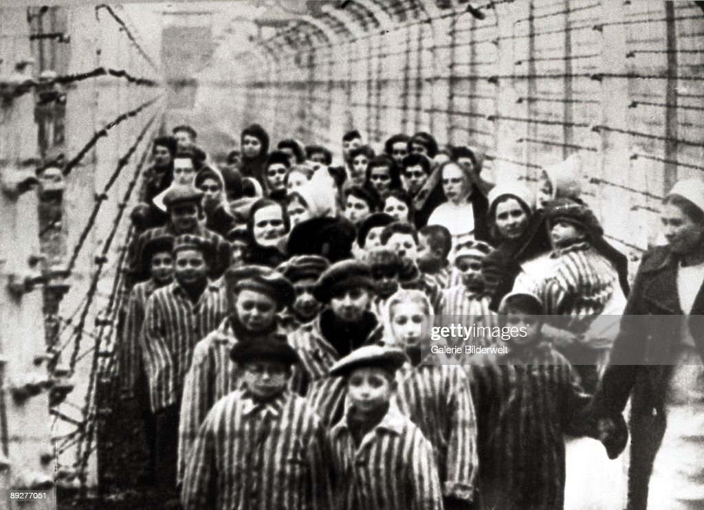 Children At Auschwitz : Foto jornalística