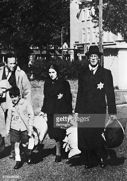 Jewish family in Amsterdam have just been arrested and leave their house in Amsterdam to go to a Nazi concentration camp in Poland.