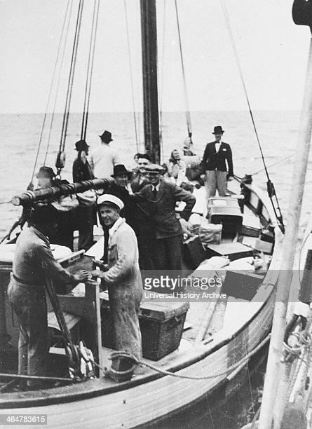 Jewish Fugitives on Danish Fishing Boat 1943