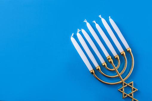 Jewish Hanukkah menorah 1186129317
