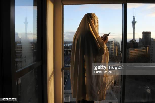 jewish man is praying in the morning - rafael ben ari stock pictures, royalty-free photos & images