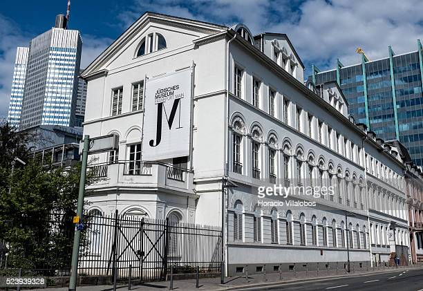 Jewish Museum in Frankfurt Germany 08 April 2014 The museum covers the history and culture of the Jewish communities in Frankfurt Germany from the...