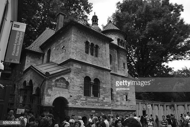 jewish museum in josefov, prague, czech republic - judiskt museum bildbanksfoton och bilder