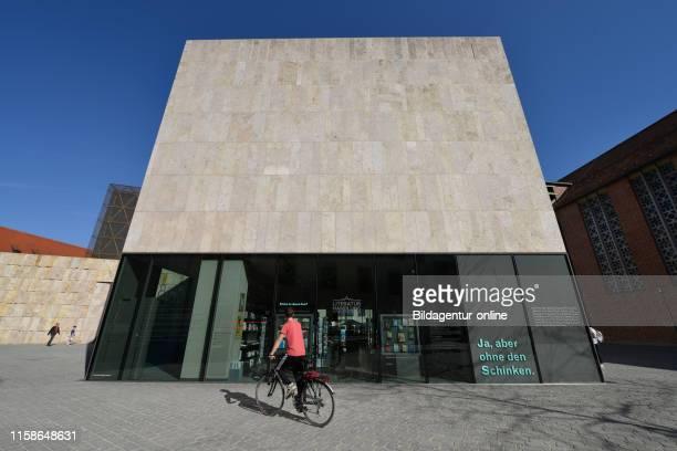 Jewish museum, Juedisches Zentrum, Sankt-Jakobs-Platz, Munich, Bavaria, Germany.