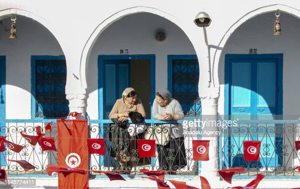Jewish pilgrims participate in an annual Jewish pilgrimage at the El Ghriba Synagogue the oldest Jewish monument built in Africa in Djerba Tunisia on...