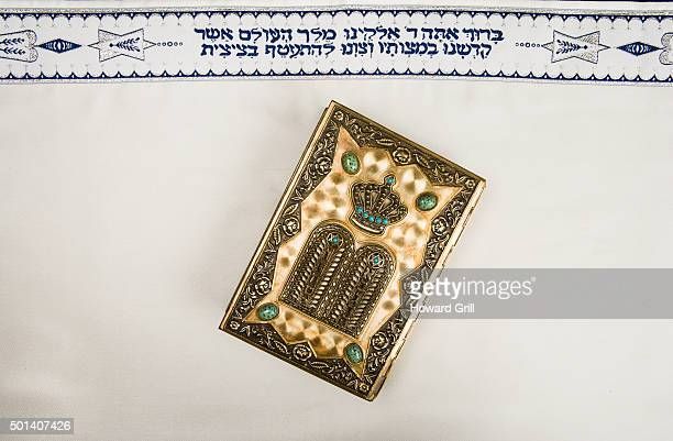 Jewish Prayer Book, Or Siddur, On Jewish Prayer Shawl, Or Tallit