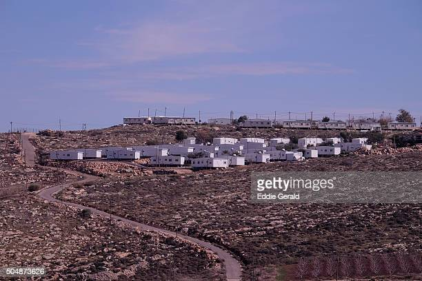 jewish settlement in the west bank - 国際法 ストックフォトと画像