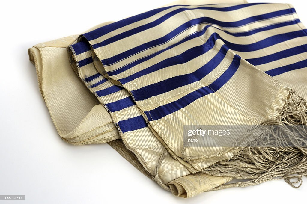 Jewish tallis : Stock Photo