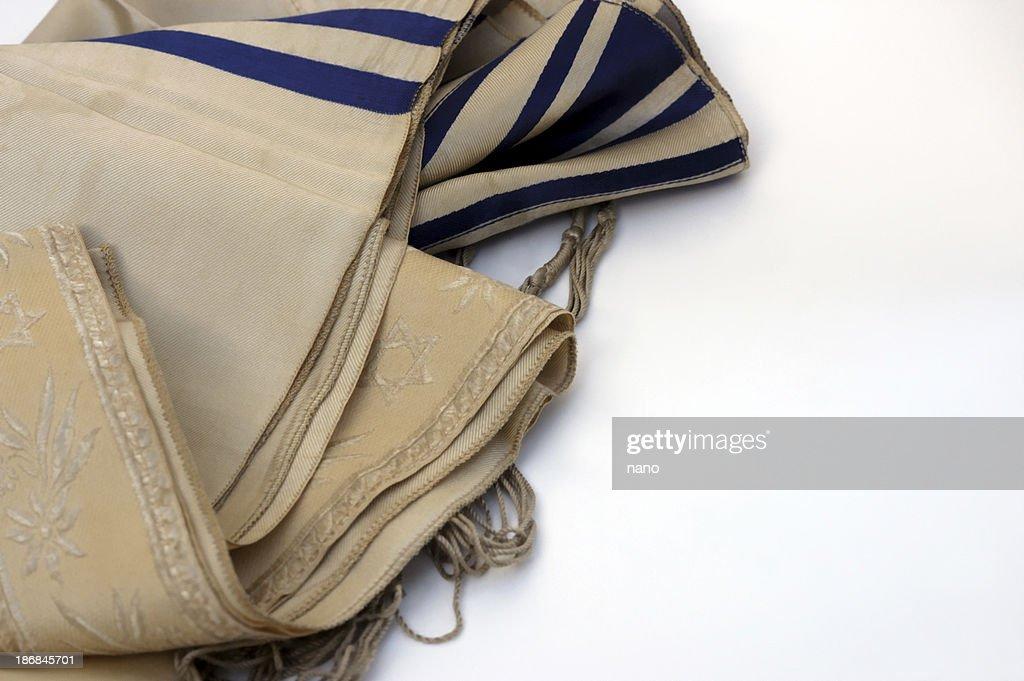 Jewish tallis : Stock Photo