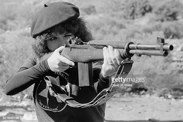 Jewish Woman with a Rifle