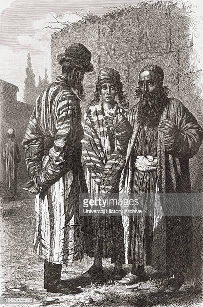 Jews Of Tashkent Capital Of Uzbekistan In The 19Th Century From El Mundo En La Mano Published 1878