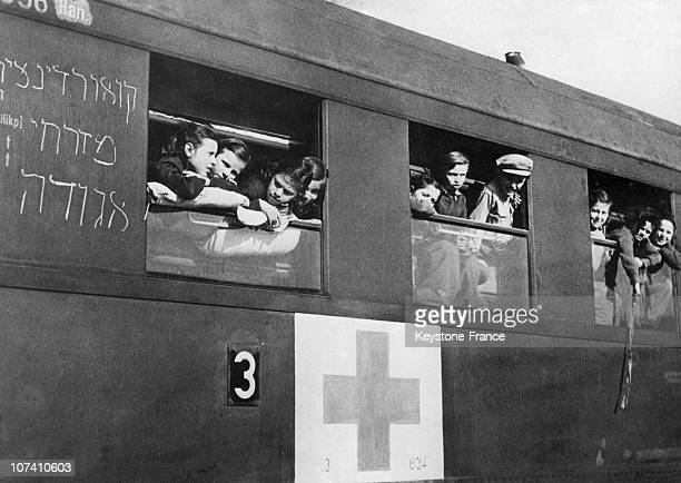 Jews Orphans From Belsen Camp Arrive At Marseille To Immigrate To Palestine In 1948