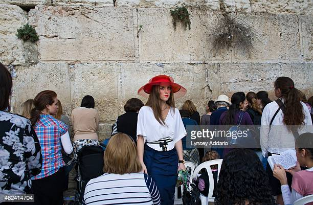 Jews pray at the Western Wall beneath Al Aqsa Mosque in Jerusalem Israel October 24 2011 Jerusalem is the holiest city in Judaism and the third...