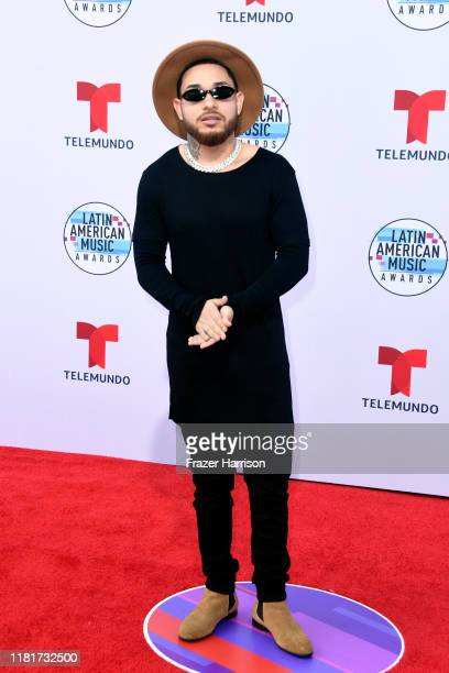 Jey Blessing attends the 2019 Latin American Music Awards at Dolby Theatre on October 17 2019 in Hollywood California