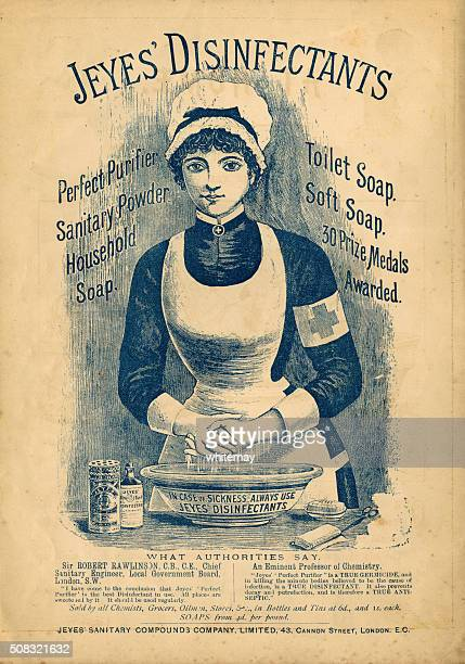Jeyes' Disinfectants advertisement c1890
