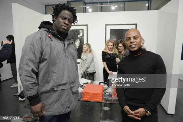 Jeymes Samuel and Tyran 'Tyty' Smith attend Robert Whitman Presents Prince 'Pre Fame' Private Viewing Event Exclusively On Vero on December 14 2017...