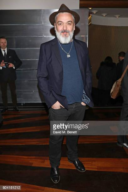Jez Butterworth attends the 18th Annual WhatsOnStage Awards at the Prince Of Wales Theatre on February 25 2018 in London England