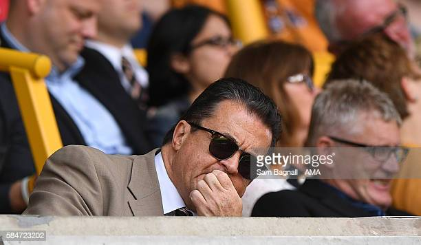 Jez Moxey outgoing CEO of Wolverhampton Wanderers during the PreSeason Friendly match between Wolverhampton Wanderers and Swansea City at Molineux on...