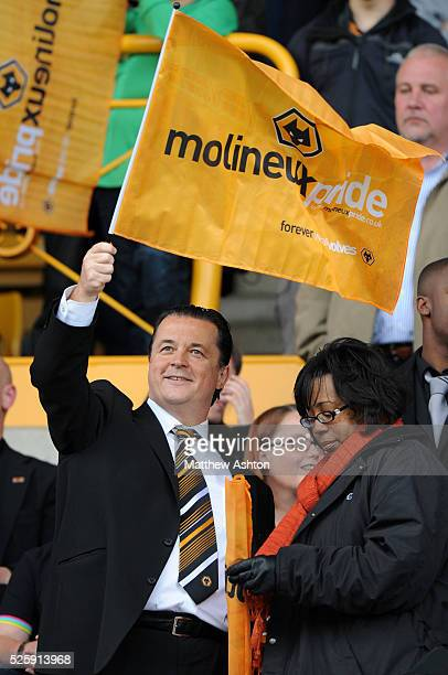 Jez Moxey the CEO of Wolverhampton Wanderers