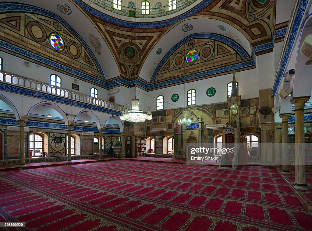 Jezzar Pasha Mosque : Stock Photo