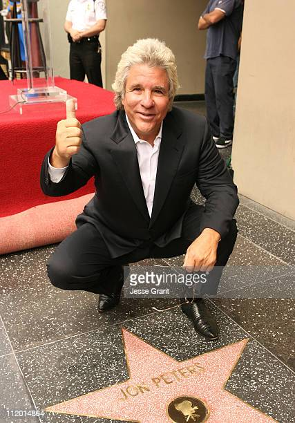 JG__8195jpg during Jon Peters Recieves a Star on the Walk of Fame at Walk of Fame in Hollywood CA United States