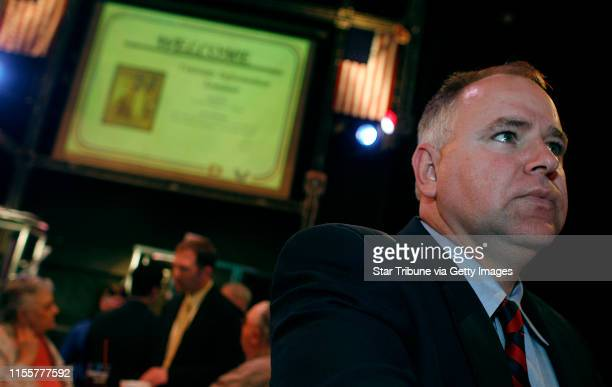 HOLT ¥jgholt@startribunecom 4/23/2006Congressional candidate Tim Walz a retired Army National Guard member who is challenging incumbent Gil...